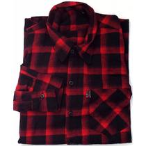 Camisa Flanela Xadrez Direto Da Fábrica P, M, G E Gg (xg)