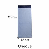 Envelope Plastico Tipo Correio Com Lacre 13 X 25 - C 200 Und