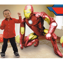 Airwalker Ironman, Marvel Globo Gigante, Iron Man Vengadores