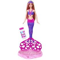 Barbie Sirena Burbujas Mágicas
