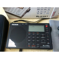 Rádio Tecsun Pl-310et Pll Digital Fm Stéreo Am Sw Lw Dsp