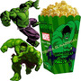 Kit Imprimible Increible Hulk Cotillon Y Candy Bar 2x1