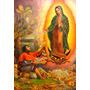 Virgen De Guadalupe Imágenes Religiosas En Cuadro 70x100cm