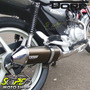 Escape Ponteira Dore + Curva Cg 150/125 Titan Fan Bronze