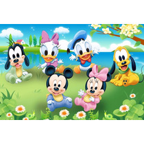Painel Em Lona Baby Disney 2,00x1,40 Mts