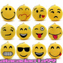 C/24 Chaveiros Emoji Emoticon Plush Whatsapp Atacado Revenda