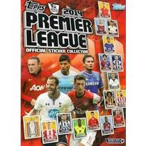Premier League 2014 - Album C/ 100 Pacotes = 500 Figurinhas