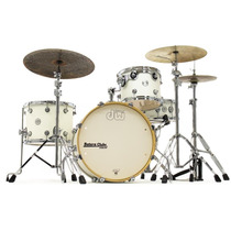 Bateria Dw Design Frequent Flyer Series Gloss White Compacta