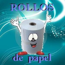 Rollo De Papel Bond Para Ticket De 76 Mm