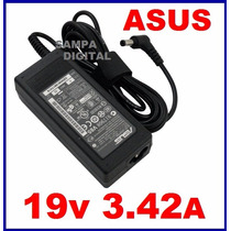 Fonte Carregador Notebook Asus 19v 3,42a 65w + Cabo De Força