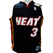 Camiseta Nba Niños Miami Heat Licencia Oficial.
