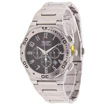 Relógio Masculino Magnum Cronografo Pulseira De Aco Ma30310t