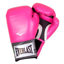 Guantes Everlast Box 12, 14 Y 16 Onzas Nuevos Color Rosa