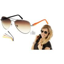 Óculos De Sol Champion Troca Hastes Gs00017a - Silver