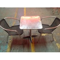 Mesa Em Alumínio Com Cadeiras Tokstok