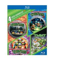 Las Tortugas Ninja , Set De Las 4 Peliculas Discos Blu-ray