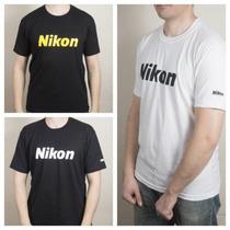 Remeras Nikon 100% Algodon. M / L / Xl Excelente Calidad.