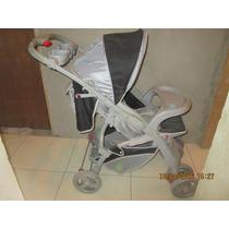 Carrinho De Bebê Marca Colo Encosto Com 3 Posições Preto