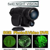 Monocular Wg-37 5m 5x40 Noite Digital Vision Infravermelho