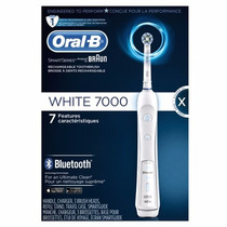 Escova De Dente Elétrica Oral B Braun Precision White 7000