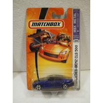 Enigma777 Matchbox Mercedes Benz Cls 500 Azul #20