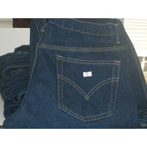 Pantalones Blue Jeans Triple Costura 14oz De Seguridad
