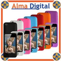 Forro Silicon Ipod Touch 4g Estuche Funda Protector Goma