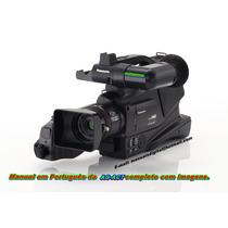 Manual Completo Em Português Da Filmadora Panasonic Ag-ac7.