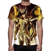 Camisa, Camiseta Cavaleiros Do Zodíaco Shiryu De Dragão