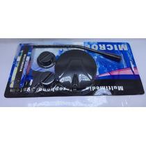 Microfone Mesa Pc Notebook Base Multimedia Pedestal 3.5mm P2