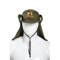 Chapéu Com Proteção Uv 50+ Ver Musgo