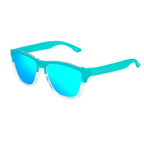 Lentes De Sol Hawkers - Bicolor Tiffany Clear Blue One