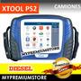 Escáner Xtool Ps2 Diagnostico Camiones Diesel Pantalla Color
