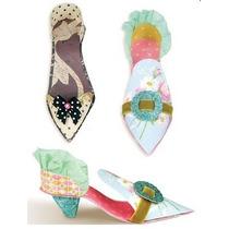 Suaje Zapatillas Zapatos Mujer Xv Años Boda Manualdidades