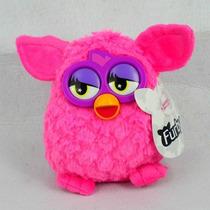 Pelúcia Furby Rosa Pinko Novo Colecionável Nao Eletronico