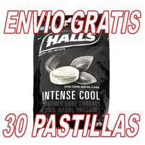 Pastillas Halls Negras Extra Menta Fuerta Envio Gratis Black