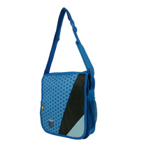 Morral Celeste Afa Triple Estampa Chico