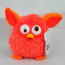 Pelúcia Furby Laranja Fogo Novo Colecionável Nao Eletronico