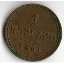 Spg Austria ( Imp. Austro Hungaro ) 1 Kreuzer 1851 A