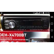 Reproductor Pioneer Deh-x4700bt Bluetooth Nuevo A Estrenar