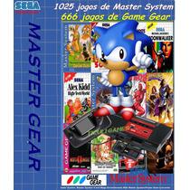 Controle Usb Para Pc + Dvd Master System E Game Gear