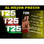 Focus T25 Rutina Entrenamiento Fitness Insanity Tapout Xt