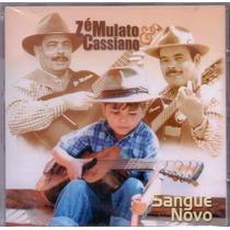 Cd Zé Mulato & Cassiano - Sangue Novo - Novo***