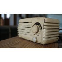 Radio Rca Victor De Baquelita Funcionando.
