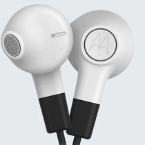 Audifonos Motorola Earbuds Blanco Micro Y Control De Musica