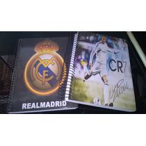 Kit 2 Cadernos 10 Materia Real Madrid