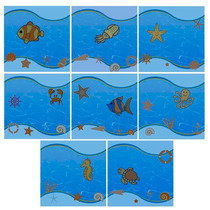 Azulejo 20x20 Decor Decorativo Piscina Unidade
