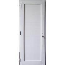 Puerta Aluminio Linea Modena Ciega 80 X 200 Color Blanco