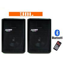 Kit Caixa De Som Ativa + Passiva 400 Watts Rms Datrel Jbl
