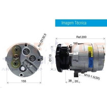 Compressor S10 / Blazer 2.5 Diesel 98 Em Diante - Sem Juros